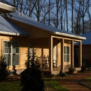 Guest Cabin Accommodations - McClain Lodge - Brandon, Mississippi