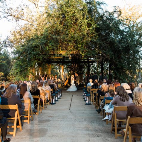 Under the Oaks - Outdoor Wedding - McClain Lodge